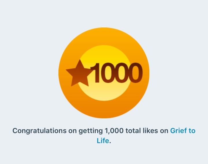 1,000 ♥️